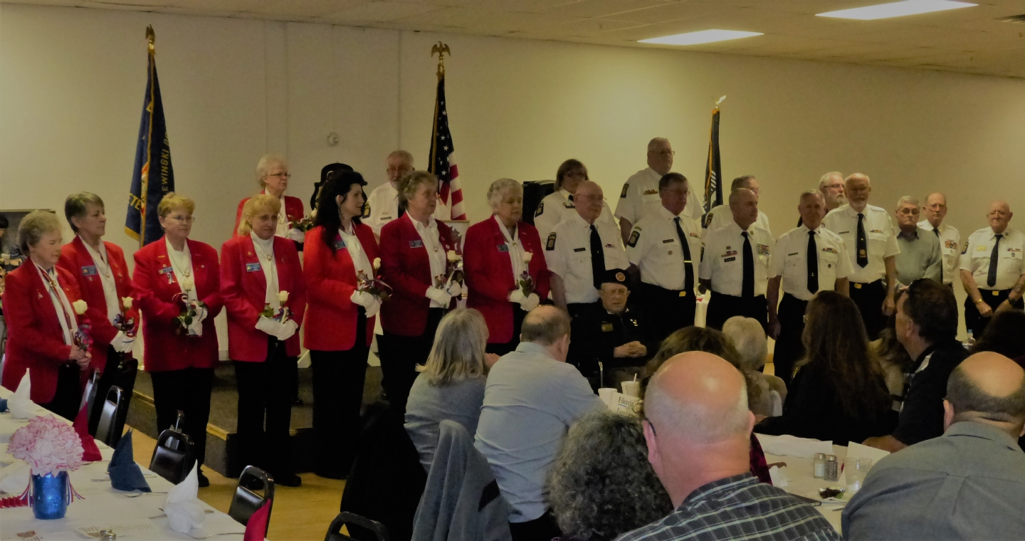 Annual dinner to honor spouses of veterans we held memorial services for.